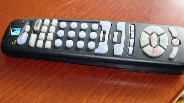 Easy-to-use remote control