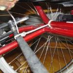 Modified wheelchair brake