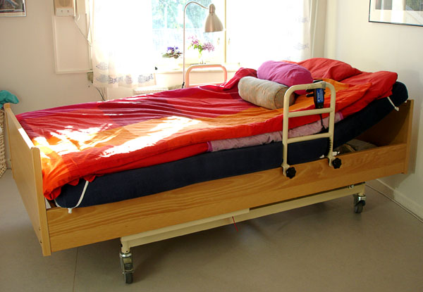 Electric bed – lowest position