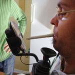 Hållare till mobiltelefon och sladdlös hemtelefon