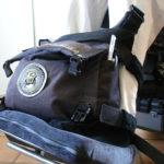 Väska på rullstol