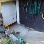 Carport för elektrisk rullstol