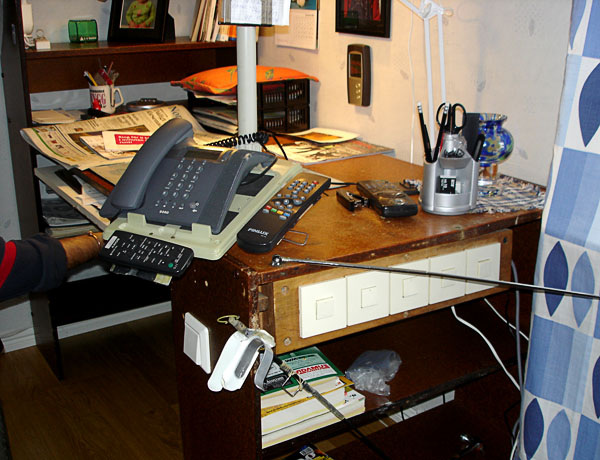 Accessible desk