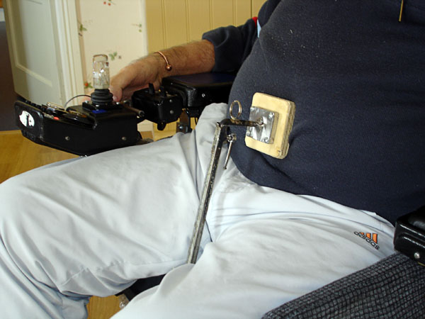 Mobile assistive device for coughing