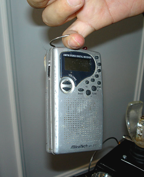 Adapted radio