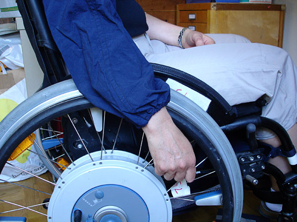 Sleeve protector for wheelchair users