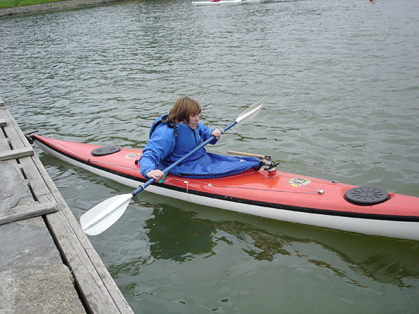 Adapted kayak