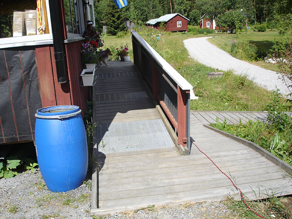 Ramp to vacation home