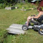 Ramp to garden