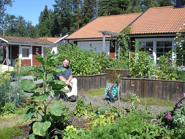 Tillgänglig trädgård