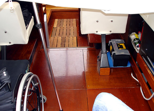 Aft deck and forecastle