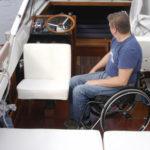 Motorboat interior