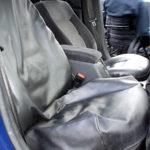 Passenger seat cover