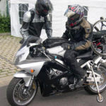 Adapted motorcycle