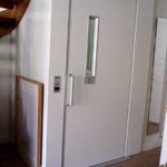Elevator in multilevel apartment