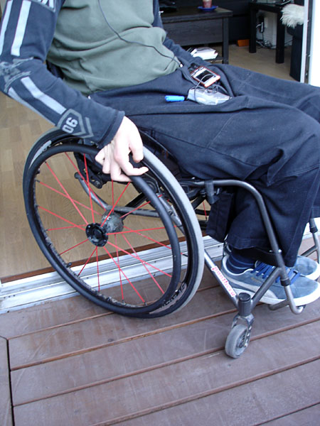 Accessible balcony