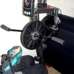 Modified exercise bike