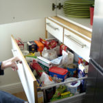 Storage of household utensils and food