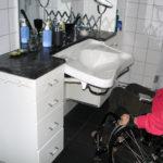 Washbasin and storage