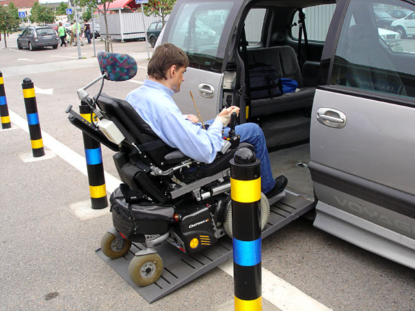 Adapted minivan
