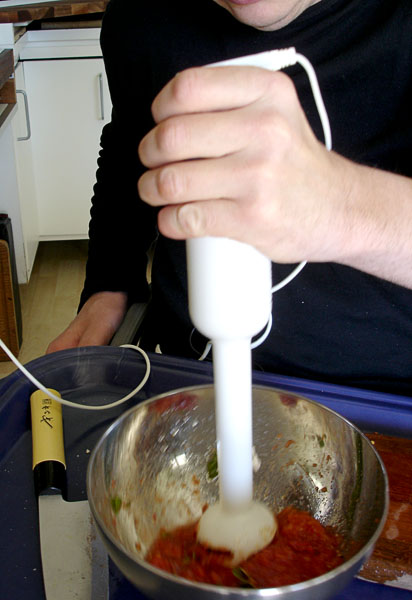 Kitchen – electric stick mixer