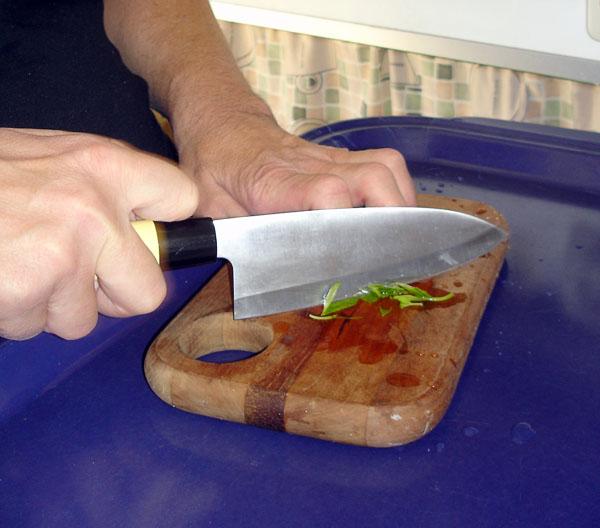 Greppvänlig kniv