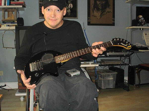 Music – modified electric guitar