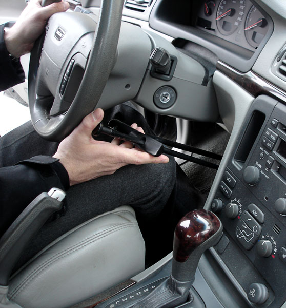 Travel hand control unit for car
