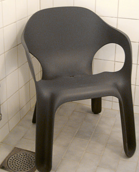Shower chair (close-up)