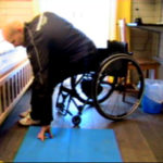 Transfer from wheelchair to floor