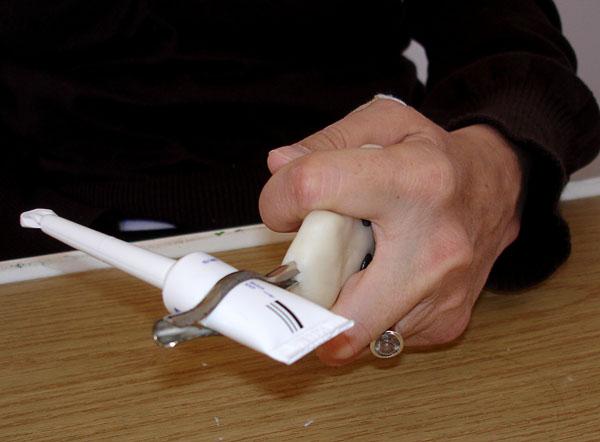 Custom-designed microlax doser