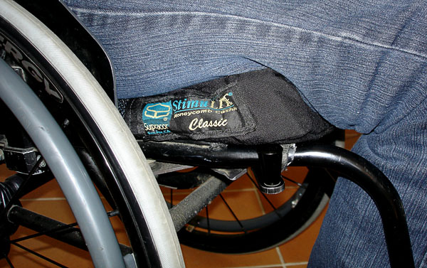 Wheelchair cushion StimuLITE