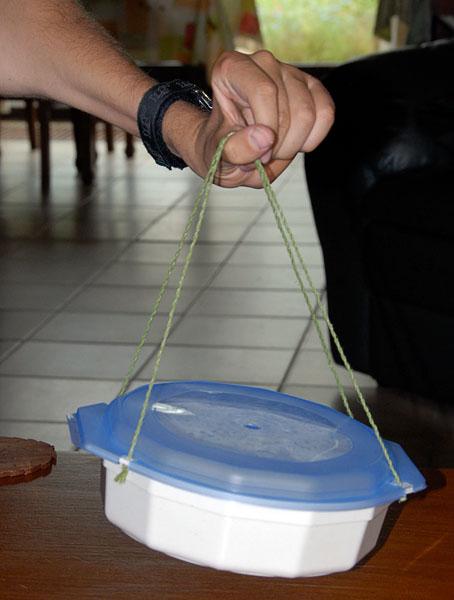 Anpassad skål för mikrovågsugn