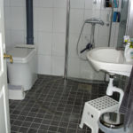 Accessible bathroom in vacation home