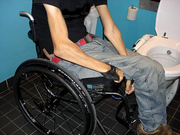 Förflyttning till toaletten