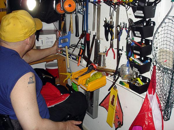 Organized tool storage