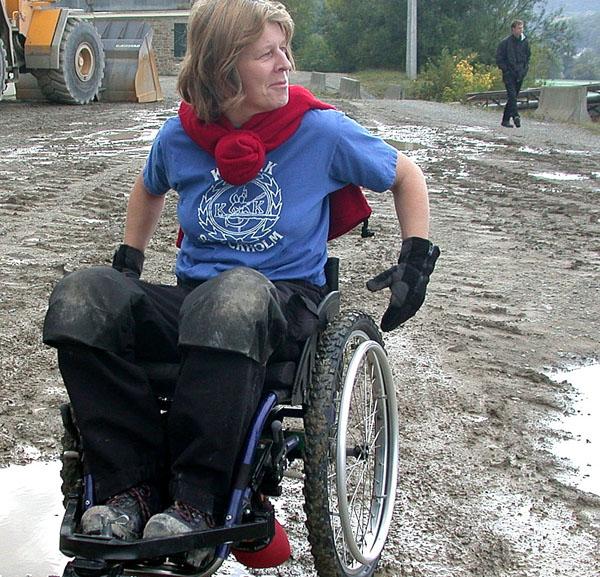 Vinterdäck till rullstol