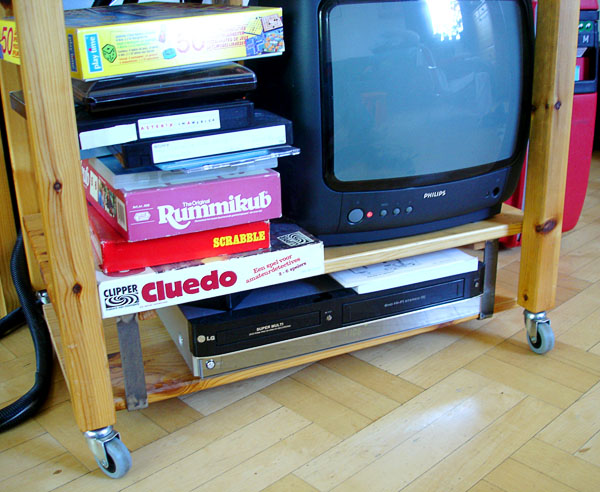 TV on trolley