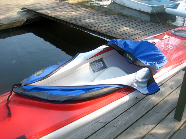 Kayak with cover