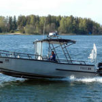 Accessible motorboat