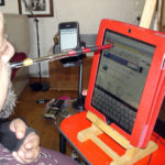 Adapted stick for iPhone and iPad