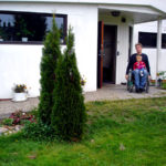 Accessible patio and garden