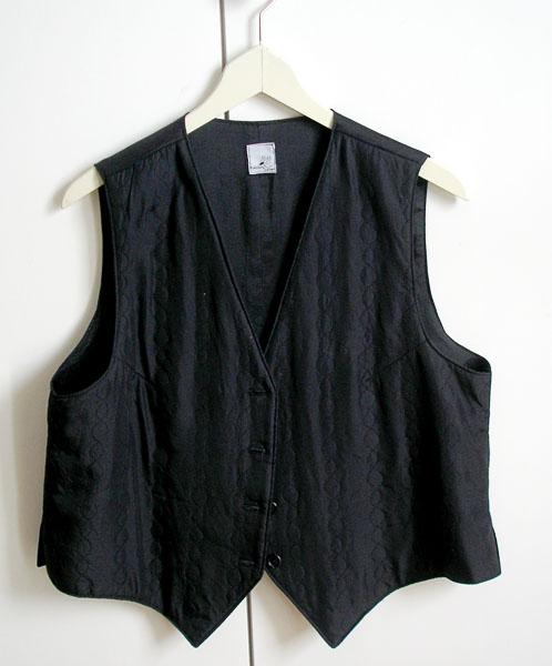 Custom-sewn vest