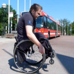 Balancing on rear wheels