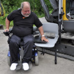 Transfer to adapted excavator
