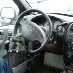 Modified steering wheel
