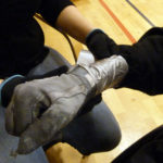 Wheelchair gloves for wheelchair rugby