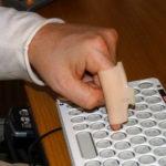Custom-made finger sleeves