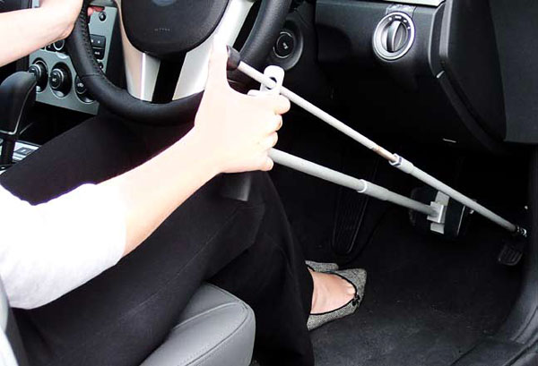 Mobile hand controls for car