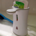 Automatic soap pump with sensor